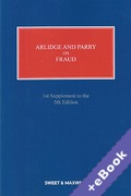 Cover of Arlidge and Parry on Fraud 5th ed: 1st Supplement (Book & eBook Pack)