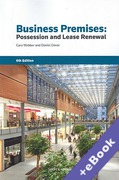 Cover of Business Premises: Possession and Lease Renewal (Book & eBook Pack)