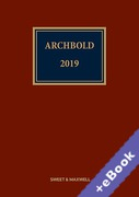 Cover of Archbold: Criminal Pleading, Evidence and Practice 2019 (Book & eBook Pack)