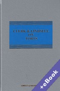 Cover of Clerk & Lindsell On Torts 22nd ed with 1st Supplement (Book & eBook Pack)