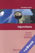 Cover of Injunctions (Book & eBook Pack)