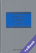 Cover of Bowstead & Reynolds On Agency 21st ed with 2nd Supplement (Book & eBook Pack)