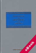 Cover of Bowstead & Reynolds On Agency 21st ed with 2nd Supplement (eBook)