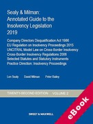 Cover of Sealy & Milman: Annotated Guide to the Insolvency Legislation 2019: Volume 2 (eBook)