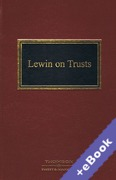 Cover of Lewin on Trusts (Book & eBook Pack)