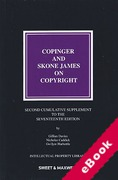 Cover of Copinger and Skone James on Copyright 17th ed: 2nd Supplement (eBook)