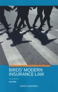 Cover of Birds' Modern Insurance Law