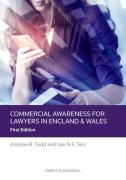 Cover of Commercial Awareness for Lawyers: English/Welsh Edition