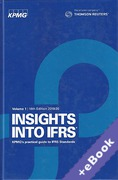 Cover of Insights into IFRS: KPMG's Practical Guide to International Financial Reporting Standards (Book & eBook Pack)