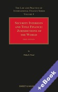Cover of Security Interests and Title Finance: Jurisdictions of the World: Volume 4 (Book & eBook Pack)