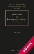 Cover of Regulation of International Finance 2nd ed: Volume 9 (eBook)