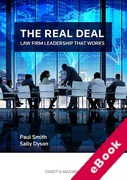 Cover of The Real Deal: Law Firm Leadership That Works (eBook)