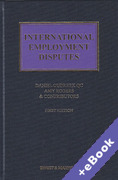 Cover of International Employment Disputes (Book & eBook Pack)