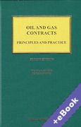 Cover of Oil and Gas Contracts: Principles and Practice (Book & eBook Pack)