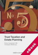 Cover of Trust Taxation and Estate Planning (eBook)