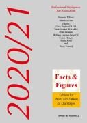 Cover of Facts & Figures 2020/21: Tables for the Calculation of Damages (Book & eBook Pack)