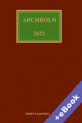 Cover of Archbold: Criminal Pleading, Evidence and Practice 2021 (Book & eBook Pack)