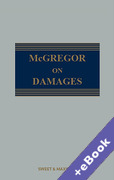 Cover of McGregor on Damages (Book & eBook Pack)