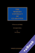 Cover of The Modern Contract of Guarantee (Book & eBook Pack)