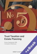 Cover of Trust Taxation and Estate Planning (Book & eBook Pack)