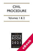 Cover of The White Book Service 2021: Civil Procedure Volumes 1 & 2 (eBook)