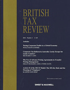 Cover of British Tax Review: Issues and Bound Volume