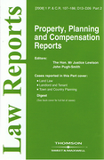 Cover of Property, Planning and Compensation Reports: Issues and Bound Volume