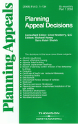 Cover of Planning Appeal Decisions: Issues Only