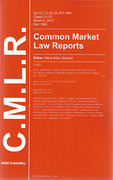 Cover of Common Market Law Reports and Antitrust Reports: Issues Only