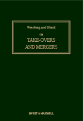 Cover of Weinberg and Blank on Takeovers and Mergers Looseleaf