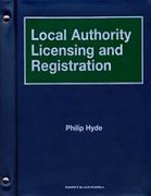Cover of Local Authority Licensing and Registration Looseleaf