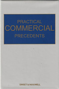 Cover of Practical Commercial Precedents Looseleaf