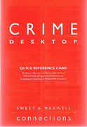 Cover of Crime Desktop CD-ROM: Standalone
