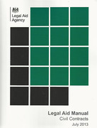 Cover of Legal Aid Manual: Volume 2 Civil Contracts