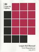 Cover of Legal Aid Manual: Volume 3 Civil Regulations