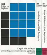 Cover of Legal Aid Manual: Volumes 1 - 3 + CD-ROM