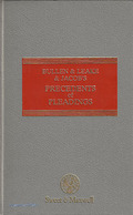 Cover of Bullen & Leake & Jacob's Precedents of Pleading 13th ed - Last Pre-Woolf Edition