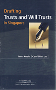 Cover of Drafting Trusts and Will Trusts in Singapore