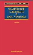 Cover of Shareholder Agreements and Joint Ventures in China