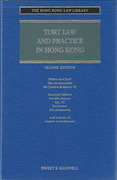 Cover of Tort Law and Practice in Hong Kong