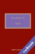 Cover of Theobald on Wills 18th ed with 1st Supplement (Book & eBook Pack)