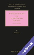 Cover of Conflict of Laws and International Finance 2nd ed: Volume 8 (Book & eBook Pack)