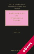 Cover of Conflict of Laws and International Finance 2nd ed: Volume 8 (eBook)