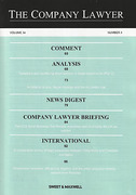 Cover of The Company Lawyer: Issues Only