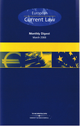 Cover of European Current Law