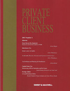 Cover of Private Client Business: Issues and Bound Volume