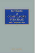 Cover of Encyclopedia of Compulsory Purchase and Compensation Looseleaf