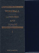 Cover of Woodfall: Landlord and Tenant Looseleaf