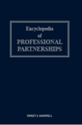 Cover of Encyclopedia of Professional Partnership Looseleaf