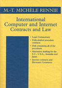 Cover of International Computer and Internet Contracts and Law Looseleaf